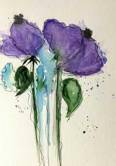 Two Purple Flowers Art Print by Britta Zehm. All prints are professionally printed, packaged, and shipped within 3 - 4 business days. Choose from multiple sizes and hundreds of frame and mat options.