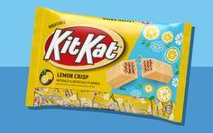 Kit Kat's New Lemon Crisp Flavor Is a Zesty, Fruity Treat Sweet Recipes, Snack Recipes, Snacks, Kit Kat Flavors, Taco Salad Doritos, Kit Kat Bars, Meringue Pie, Lemon Bars, New Flavour