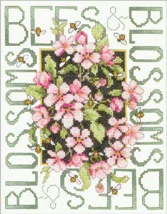 Bucilla Bees & Blossoms Stamped Cross Stitch Kit by Bucilla, http://www.amazon.com/dp/B004C6JQMG/ref=cm_sw_r_pi_dp_qiJKrb162R6WD