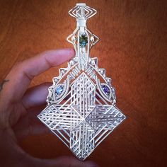 Working with wizards! @jasonburruss @3rdeyedentity #jasonburruss #wirewrap #3dprint