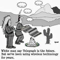 #Geeks_Humor | Funny Technology - Community - Google+ via Cartoons by Spud | #wifi #wireless