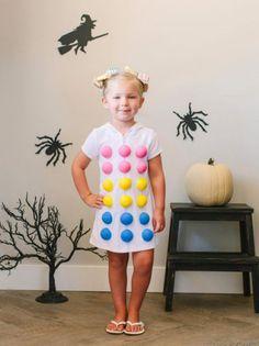 DIY Dots Candy Halloween Costume