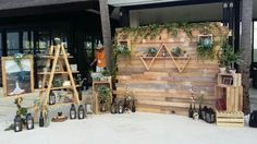 RUSTIC BACKDROP PHOTOBOOTH by It's True Wedding Planner And Decoration - 004