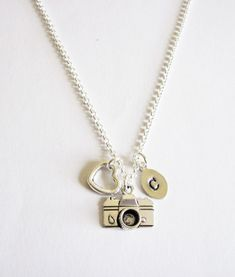Personalized Camera Necklace - photography necklace by RobertaValle, $18.00