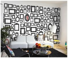See all of our wall mural and wallpaper patterns divided into 14 popular categories. Find your dream wall mural and wallpaper. All orders are custom-made to fit your wall. Art Corner, Scandinavian Style, Wall Design, Wall Murals, Wall Stickers, Interior Inspiration, Sweet Home, Gallery Wall, Wall Decor