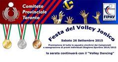 """Taranto - Festa del Volley Jonico presso la Masseria """"LEUCASPIDE"""