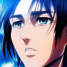 Eren and Mikasa: Home Is Where the Heart Is Aot Gifs, Anime Gifs, Sad Anime, Anime Manga, Anime Art, Attack On Titan Season, Attack On Titan Eren, Attack On Titan Fanart, Eren E Levi