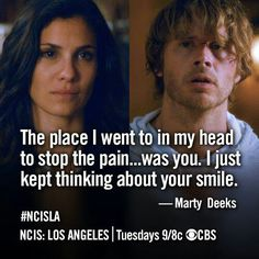 NCIS: Los Angeles.  Densi all the way