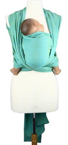 Caribou Baby - Girasol Woven Wrap Turquoise Diamond