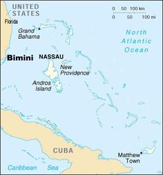 "In March 1927, a Cayce reading (996-12) referred to ""adjacent lands to the west and south of the isles"" (Bimini) as a portion of Atlantis that ""will be uncovered."" Cuba lies to the west and south of Bimini and is between the Gulf of Mexico and the Mediterranean."