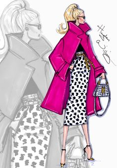 'Spotted In Pink' by Hayden Williams ❥|Mz. Manerz: Being well dressed is a beautiful form of confidence, happiness & politeness