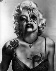 Marilyn Monroe zombie tattoo!