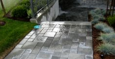 Paving stones walkway in Burnaby, BC by Beaver Landscape