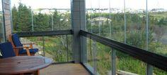 Balcony glazing example 7