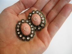 Hey, I found this really awesome Etsy listing at https://www.etsy.com/listing/181081706/rose-garden-cabochon-earrings-by-lena