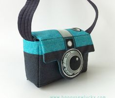 Camera bag fabric/pattern on Spoonflower
