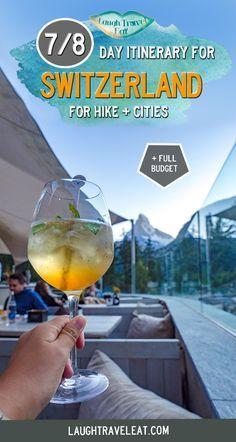 Switzerland itinerary: 7 days through Geneva, Lucerne, Interlaken, and Zermatt Travel Advice, Travel Guides, Travel Tips, Travel Articles, Europe Destinations, Travel Europe, Ukraine, Switzerland Itinerary, Swiss Travel Pass