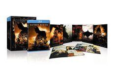 Batman Begins - Limited Collectors Edition Blu-ray Limited Collector's Edition Limited Edition: Amazon.de: Michael Caine, Liam Neeson, Christian Bale, Morgan Freeman, Katie Holmes, Gary Goldman, Christopher Nolan: DVD & Blu-ray