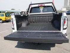 タンドラ荷台:スプレーオンベッドライナーLINE-X:ムーンアイズストリートカーナショナルズ出展車両 Toyota TUNDRA CrewMAX x LINE-X  mooneys street car nationals