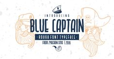 28 incríveis fontes gratuitas para download • Designerd Best Free Fonts, Great Fonts, All Fonts, Font Free, Pirate Font, Nautical Fonts, Texture Web, English Characters, Free Typeface