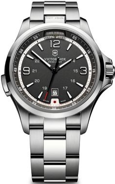 Victorinox Swiss Army offers a handsome timepiece appropriate for almost any occasion.