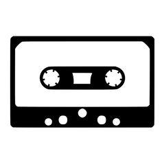 Flock folie cassette tape