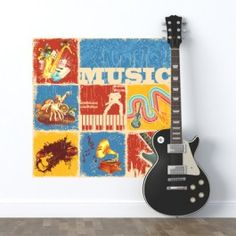 Adesivo Music de Estilo. A partir de R$37,00. Um produto decorativo para quem adora música. Perfeito para diversos tipos de ambientes. Estre nesse clima e dê inveja até nos seus amigos.