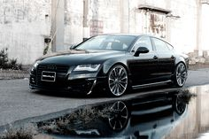 Wouldn't mind getting behind the wheel of one of these (Audi A7)
