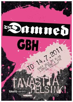 The Damned & GBH Tavastia 2011