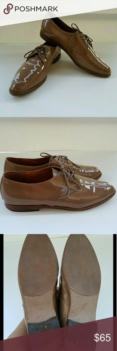 Madewell Patent Leather Oxfords GUC. Only sign of wear are the few creases on the leather. No box. Madewell Shoes Flats & Loafers