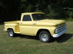 1965 white chevy truck | Purchase used 1965 chevy truck stepside in College Grove ...