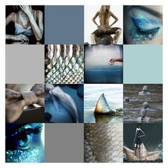 Sail on the Rising Tide~ Mermaids~a~GoGo by voncliecxclusives on Polyvore featuring art, undiscovered, artflashmob1 and MISleather