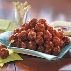 Sweet Chili Bbq Meatballs