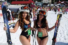 Bikini Snowboarding Festival 2017 in Russia - English Russia Swimsuits, Bikinis, Swimwear, Bikini Clad, Bikini Babes, Snowboarding, Ibiza, Boxer, Celebrities