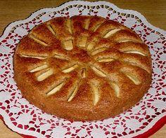 Apfel - Grieß - Kuchen (Rezept mit Bild) von Maharani22   Chefkoch.de