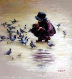 Paris Afternoon Clark Art, Vibrant Colors, Colours, Pastel, Portrait, Flowers, Painting, Animals, Inspiration