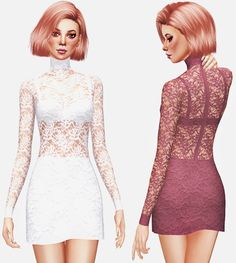 ELLIE DRESS at Leeloo via Sims 4 Updates