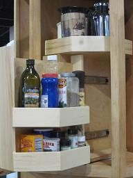 Ordinaire Upper Cabinet Rotating Pullout Finally, An Upper Corner Cabinet Solution  That Really Works. No