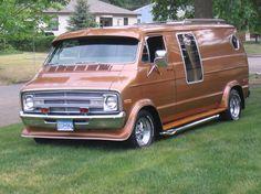 70s Dodge Vans  | Truly a 70's style van MY 1999 Dodge Dakota Truck