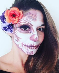 Artistic Makeup - Maquillaje Catrina - Calaveras mexicanas - Automaquillaje - Autofoto