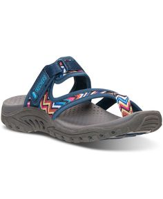 Skechers Women's Reggae - Zig Swag Sport Sandals from Finish Line
