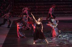 Zorba, el griego. Ballet de Santiago. Marina: Camila Aranda. Foto: Patricio Melo