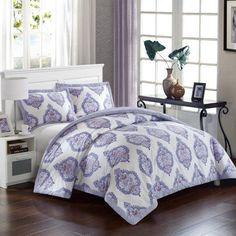 Bergen Palace Duvet Cover Set by Lux-Bed, Purple