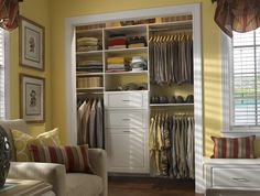 Organized Closet Shelving Ideas for Beautiful Interior Appearance - http://www.ruchidesigns.com/the-right-windows-curtain-ideas-for-various-rooms-at-home-2/