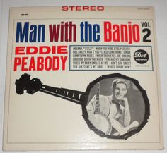 Eddie Peabody Man with The Banjo Vol 2 Autographed Stereo Dot LP DLP 25553 | eBay
