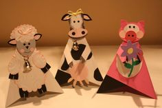 Animal Pyramid card by figaro - Cards and Paper Crafts at Splitcoaststampers