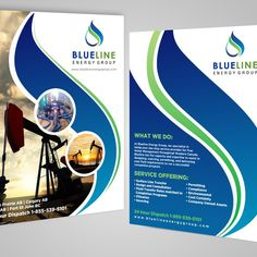 Create a simple, modern, eye catching one page brochure for an energy company by GrApHiCaL SOUL