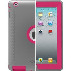 New iPad 3 Case Defender Series | OtterBox.com - Because iPads do fly down stairs and across sidewalks in my world