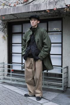 Japan Street, Tokyo Street Style, Men Street, Tokyo Style, Japan Men Fashion, India Fashion, London Fashion, Military Looks, Japanese Street Fashion