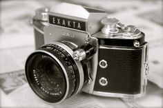 Old german camera My Photos, German, Deutsch, German Language
